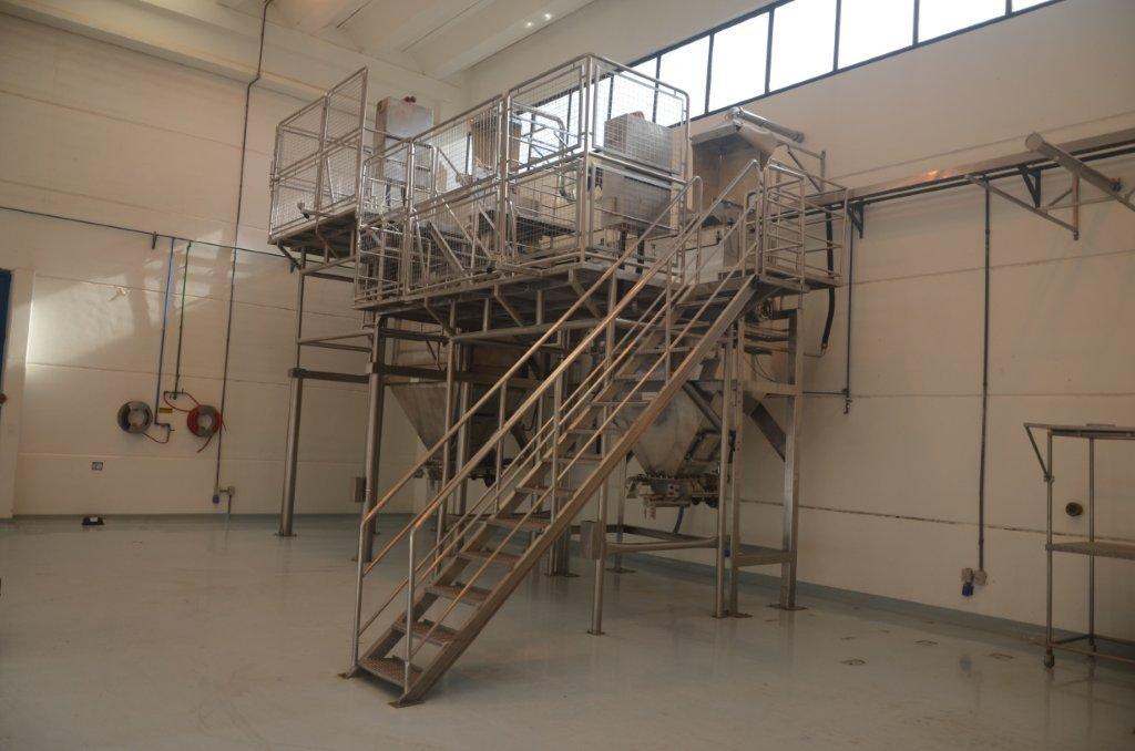 Escada plataforma industrial preço