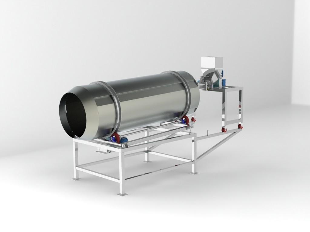 Fabricação de equipamentos em aço inox