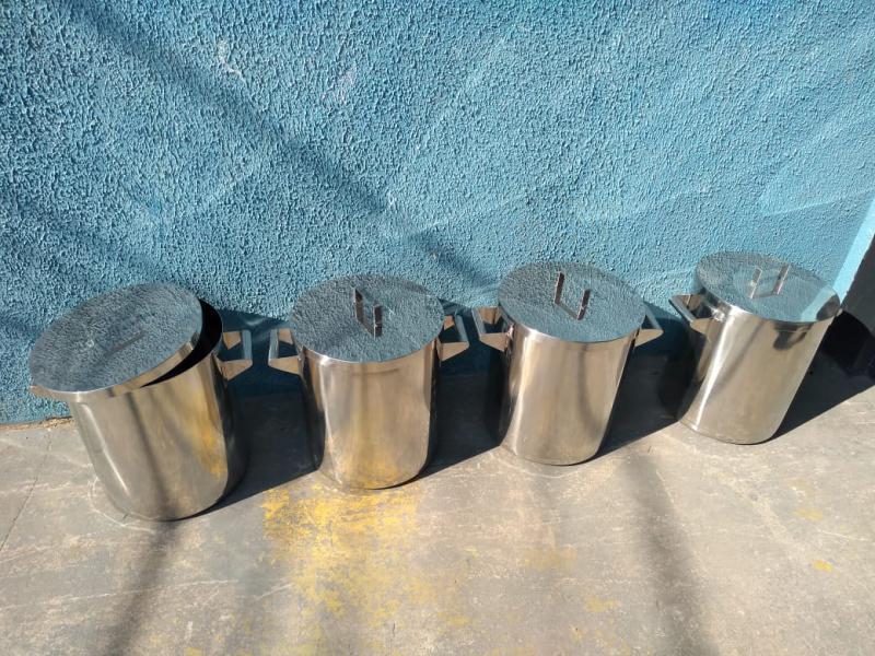Tambor de aço inox preço