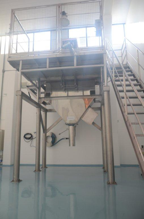 Indústria de equipamentos em aço inox