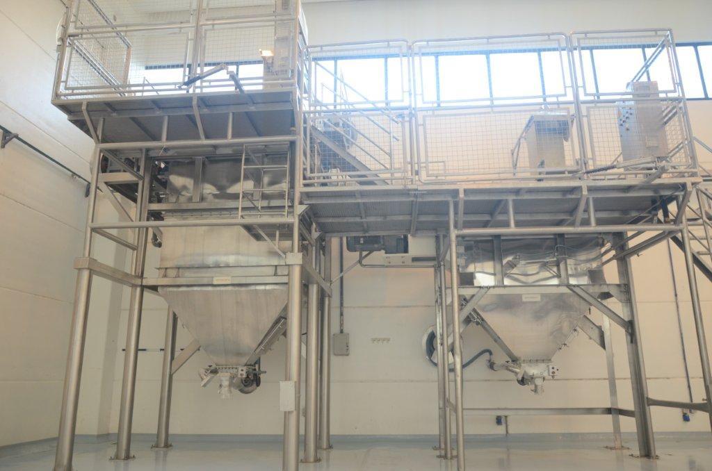 Equipamentos industriais em aço inox