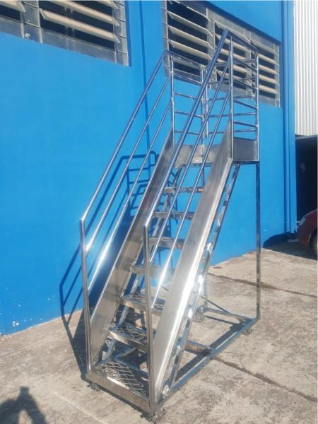 Plataforma metalica