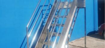 Plataformas em aço